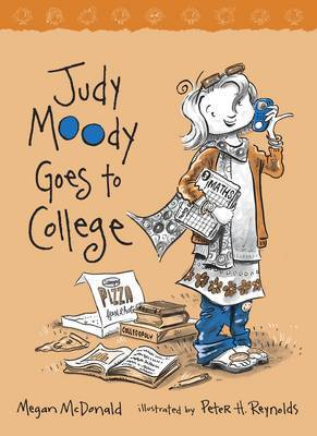 Judy Moody Goes to College by Megan McDonald image