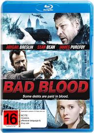Bad Blood on Blu-ray