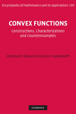 Convex Functions by Jonathan M. Borwein image