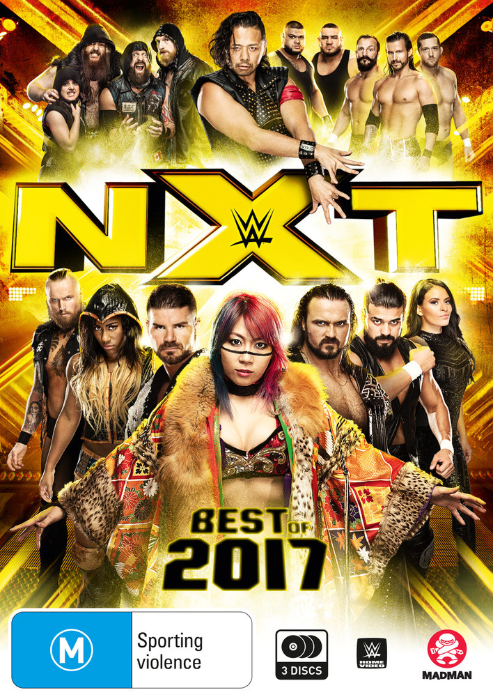 WWE: Best of NXT 2017 on DVD image