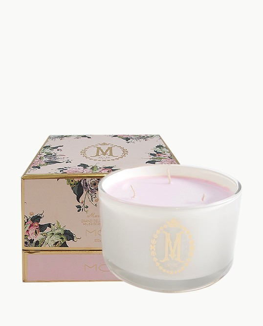 MOR Grand Deluxe Soy Candle - Marshmallow (Triple Wick - 600g)