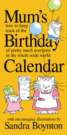 Mums Birthday Calendar