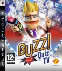 Buzz! Quiz TV with 4 Wireless Buzzers for PS3