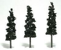 Woodland Scenics Conifer Green Pines (3 pack Medium)