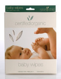 Natures Child: Organic Cotton Baby Wipes (4 Pack)