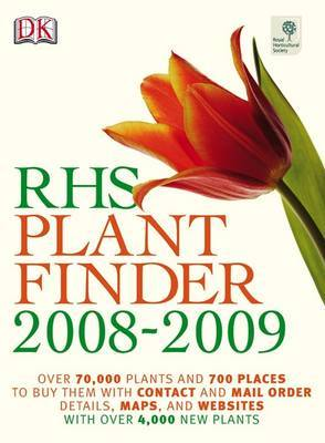 RHS Plant Finder: 2008-2009