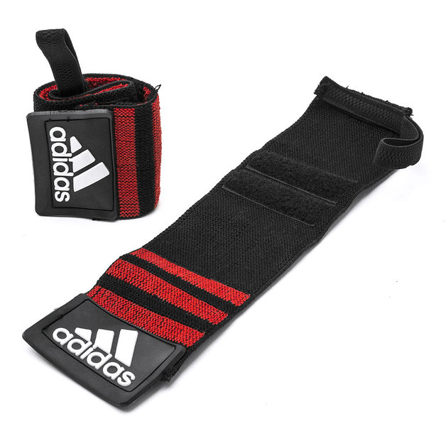 Adidas Power Lifting Wrist Wraps (Pair)