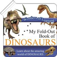 Wonders of Learning Fold out Book Dinosaurs image