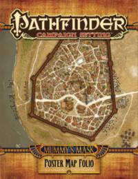Pathfinder Campaign Setting: Mummy's Mask Poster Map Folio by Paizo Staff
