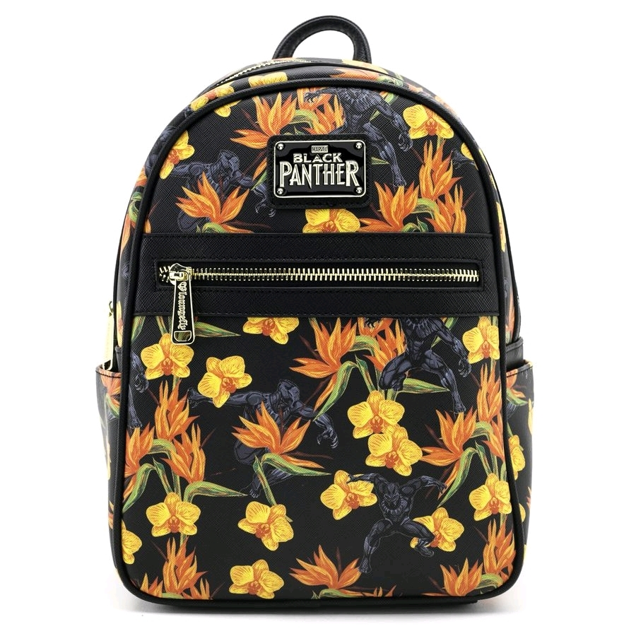 Loungefly: Black Panther - Floral Mini Backpack image