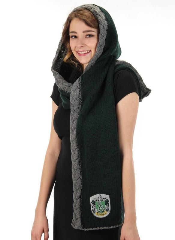 Harry Potter - Slytherin Knit Hood