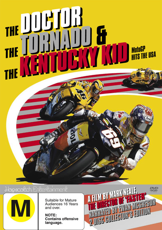 The Doctor Tornado And The Kentucky Kid on DVD