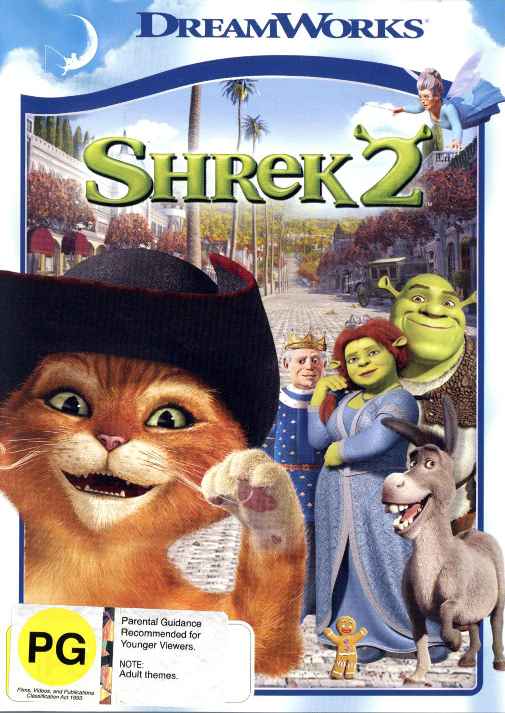 Shrek 2 (New Packaging) on DVD image