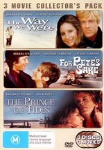 Way We Were / For Pete's Sake / Prince Of Tides - 3 Movie Collector's Pack (3 Disc Set) on DVD