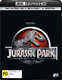 Jurassic Park on UHD Blu-ray