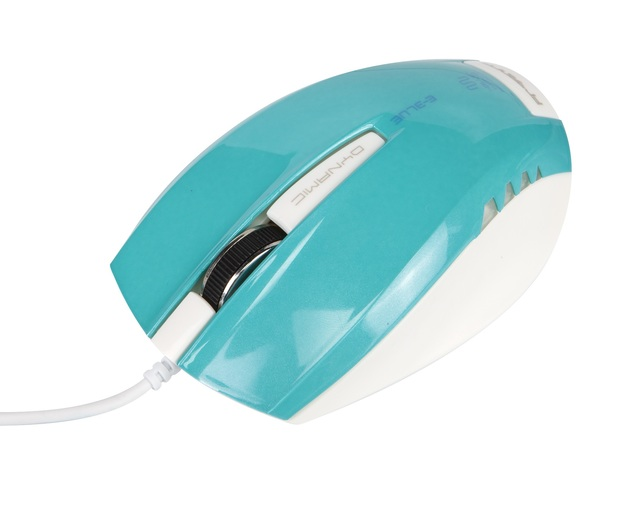E-Blue Wired USB Gaming Mouse - Blue