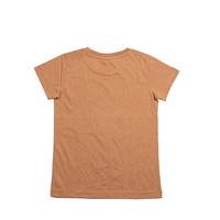 Cheeky Chimp: Print Tee - Tan (Size 5)