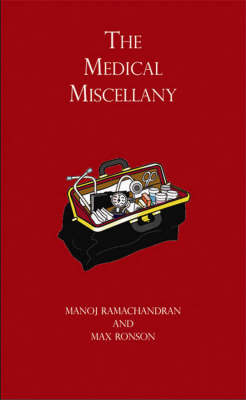 The Medical Miscellany by Manoj Ramachandran image
