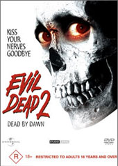 Evil Dead 2 on DVD