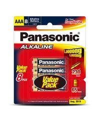 Panasonic Alkaline AAA Batteries - 8 Pack