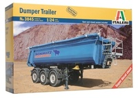 Italeri: 1:24 Dumper Trailer - Model Kit