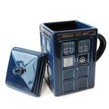 Doctor Who - Tardis Mug with Removable Lid