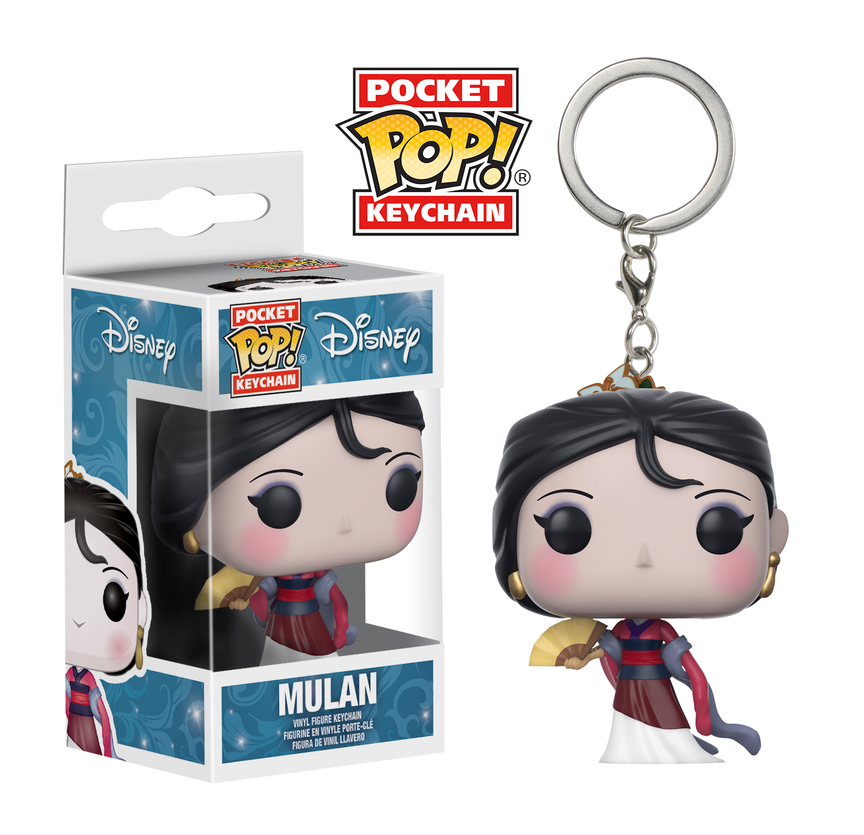 Disney - Mulan Pocket Pop! Keychain image