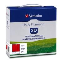 Verbatim 3D Printer PLA 3.00mm Filament - 1kg Reel (Red) image