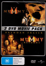 Mummy (1999) / Mummy Returns - 2 DVD Movie Pack (2 Disc Set) on DVD