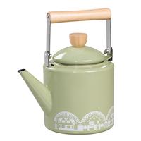Mini Moderns Enamel Kettle - Lichen Green