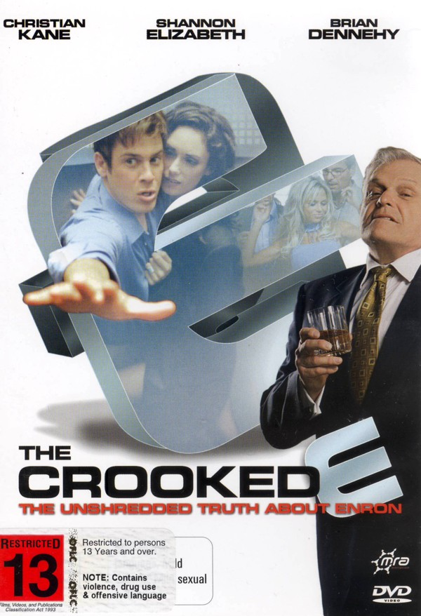 Crooked E, The - The Unshredded Truth About Enron on DVD image