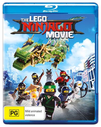 The Lego Ninjago Movie (Blu-ray) on Blu-ray