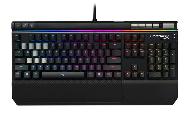 HyperX Alloy Elite RGB Mechanical Gaming Keyboard (Cherry MX Red) for PC