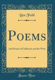 Poems by Ben Field image