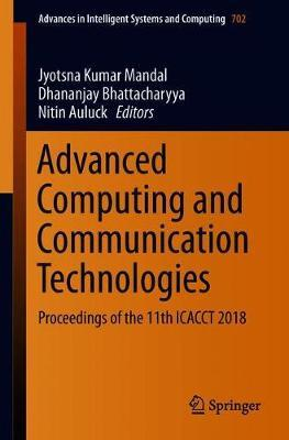 Advanced Computing and Communication Technologies image