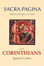 Sacra Pagina by Raymond F. Collins