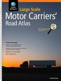 Rand McNally Large Scale Motor Carriers' Road Atlas by Rand McNally
