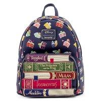 Loungefly: Disney Princess - Books AOP Mini Backpack