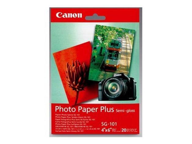 Canon Photo Paper Plus Semi-Gloss 4X6 20pack