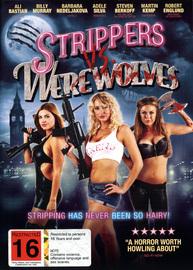 Strippers Vs Werewolves DVD