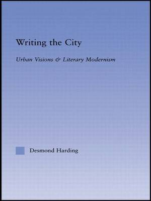Writing the City by Desmond Harding image