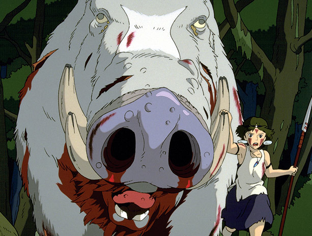 Princess Mononoke on DVD image