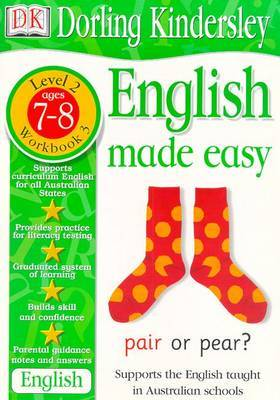 English Made Easy Level 2 (Age 7-8): Workbook 3 by Dorling Kindersley image