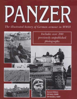 Panzer: The Illustrated History of Germany's Armoured Forces in World War II by Niall Barr image