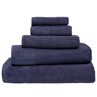 Bambury Costa Cotton Hand Towel (Ink)