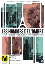 Les Hommes De L'ombre (The Shadow Men) - Season 2 on DVD