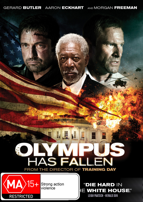 Olympus Has Fallen on DVD