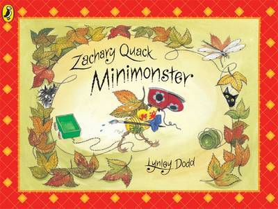 Zachary Quack Minimonster by Lynley Dodd image