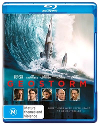 Geostorm on Blu-ray