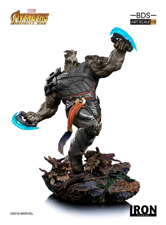 Avengers: Infinity War - 1/10 Cull Obsidian - Battle Diorama Statue image